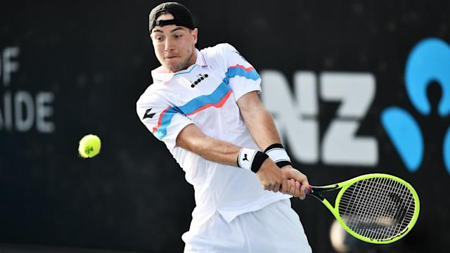 Jan-Lennard Struff, the world number 37, was the most high-profile winner at the Adelaide International on Tuesday.