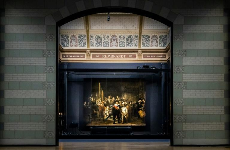 """The Rijksmuseum will keep the panels of Rembrandt's """"The Night Watch"""" in place for three months"""