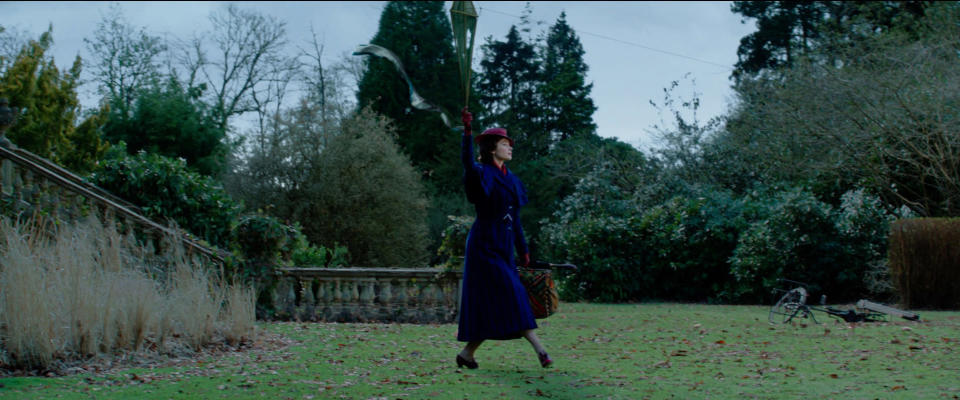 Emily Blunt is Mary Poppins in Disney's Mary Poppins Returns, a sequel to the 1964 Mary Poppins. (Disney)