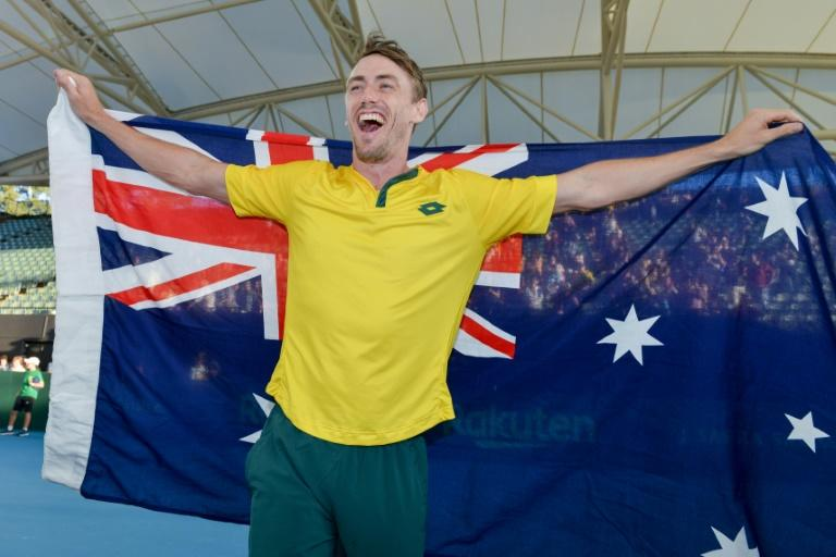 John Millman was Australia's star in Adelaide, wearing down Thiago Monteiro 6-7 (6/8), 7-6 (7/3), 7-6 (7/3) to give the 28-time champions victory over Brazil