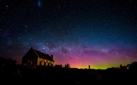 The aurora is visible from New Zealand - Credit: Getty