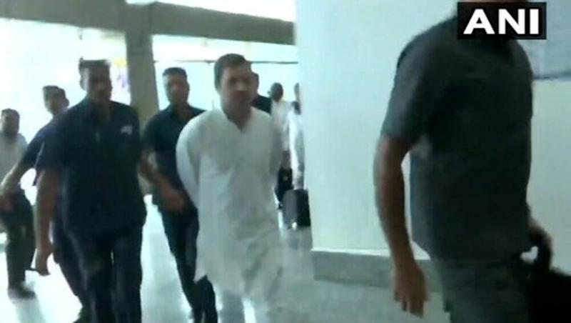 Rahul Gandhi-Led Opposition Delegation Denied Permit to Visit Jammu & Kashmir, Sent Back From Srinagar Airport