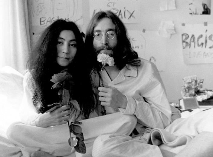 """<span class=""""caption"""">Fifty years ago, did John Lennon tell us not to pray?</span> <span class=""""attribution""""><a class=""""link rapid-noclick-resp"""" href=""""https://www.gettyimages.com/detail/news-photo/photo-of-john-lennon-news-photo/80800975?adppopup=true"""" rel=""""nofollow noopener"""" target=""""_blank"""" data-ylk=""""slk:Michael Ochs Archives/Getty Images"""">Michael Ochs Archives/Getty Images</a></span>"""