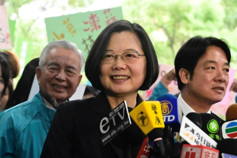 Taiwan's most prominent female politician is President Tsai Ing-wen
