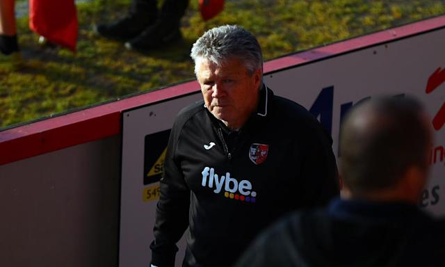 Exeter can give Steve Perryman a fitting Wembley send-off
