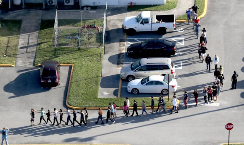 The shooter was 19-year-old former student Nikolas Cruz. Photo: Getty