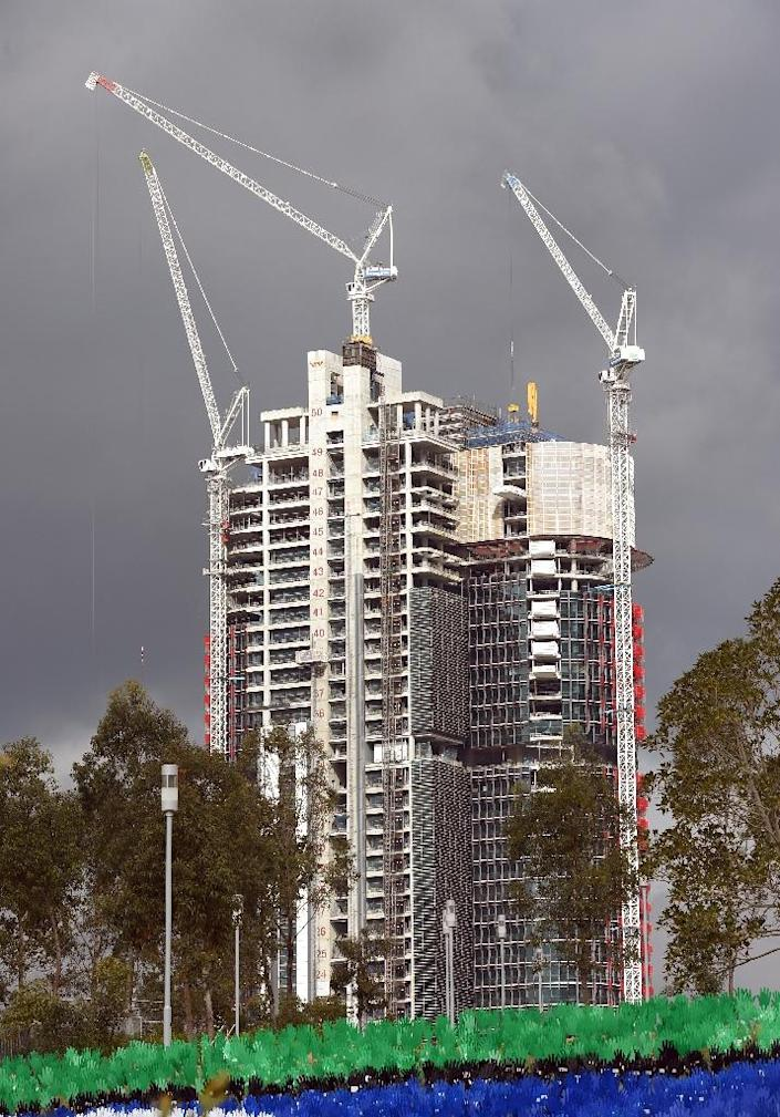 Housing affordability, and the role of property investors, has been a key battleground ahead of Australia's national elections on July 2 (AFP Photo/William West)