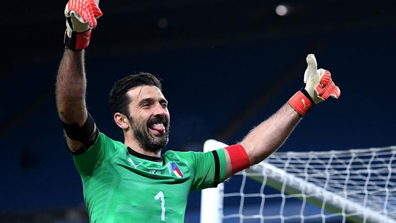 Buffon not ready to walk away as Italy look to the future
