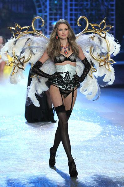 Behati Prinsloo at the Victoria's Secret Fashion Show 2012