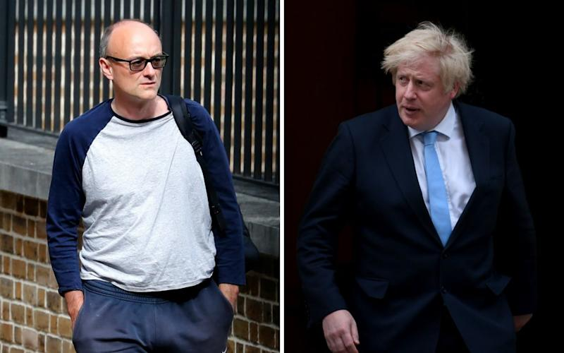 Mr Johnson will be grilled on a trip to Durham by his advisor, Dominic Cummings - AP/Shutterstock