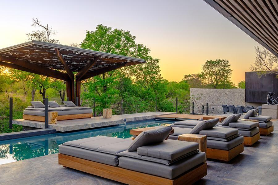 <p>Stefan Antoni, the renowned Cape Town-based architect of SOATA, along with AARCC has designed the new Cheetah Plains in South Africa's Sabi Sands. Reopened in December 2018, Cheetah Plains forgoes the conventional communal lodge with three exclusive-use private bush homes—each with its own staff, multiple living areas, and art you can purchase from important South African artists.</p>