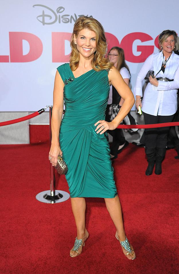 """<a href=""""http://movies.yahoo.com/movie/contributor/1800099905"""">Lori Loughlin</a> at the Los Angeles premiere of <a href=""""http://movies.yahoo.com/movie/1809918087/info"""">Old Dogs</a> - 11/09/2009"""