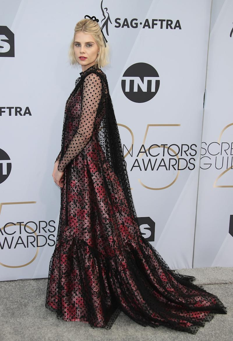 74f07d5a329f Why You Should Start Following Lucy Boynton s Style