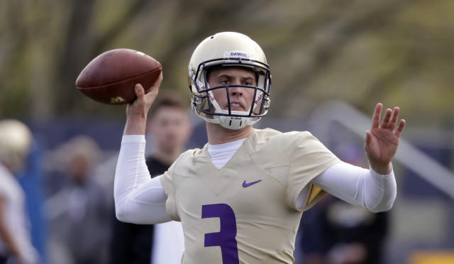 Will Washington quarterback Jake Browning be back in the Heisman picture this season? (AP)