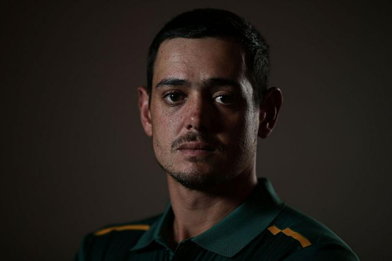 Quinton de Kock is expected to open alongside Rohit Sharma