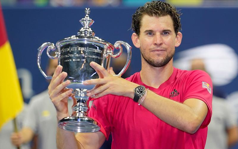 Thiem fought back from two sets down to win his first major - AP