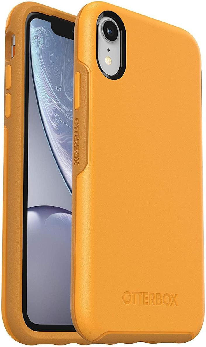 <p>This sturdy <span>OtterBox Symmetry Series Case</span> ($23) will not let you down.</p>