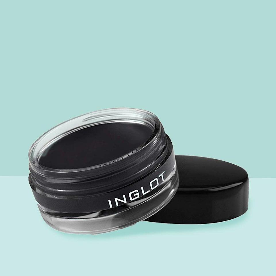 """<p><strong>Inglot</strong></p><p>amazon.com</p><p><strong>$19.99</strong></p><p><a href=""""http://www.amazon.com/dp/B00UQQU10C/"""" rel=""""nofollow noopener"""" target=""""_blank"""" data-ylk=""""slk:Shop Now"""" class=""""link rapid-noclick-resp"""">Shop Now</a></p><p>Like what you see? Lavonne used <strong>Inglot Eyeliner Gel in 77 </strong>on this model.</p>"""