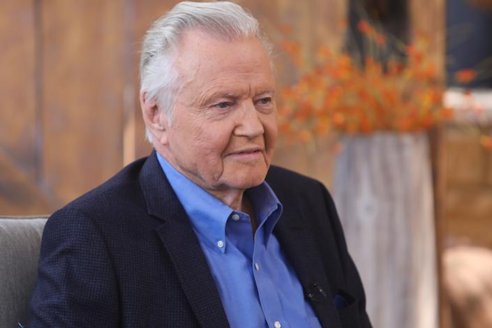 Actor Jon Voight showed support for President Trump in a new Twitter video. (Photo:  Paul Archuleta/Getty Images)