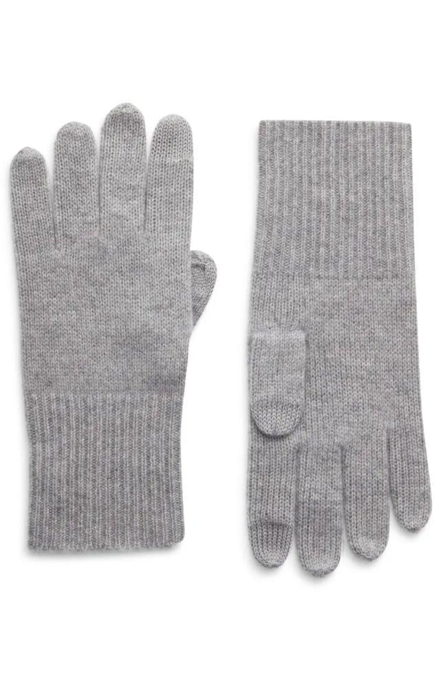 <p>These <span>Halogen Cashmere Tech Gloves</span> ($49) are soft, luxe, and yes, they can type on their phone with them.</p>