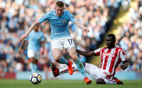 Kevin De Bruyne runs the show - Credit: REUTERS