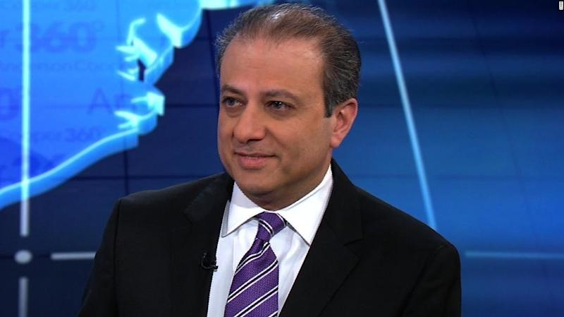 Preet Bharara: 'High' Likelihood Michael Cohen Is Going To Be Charged