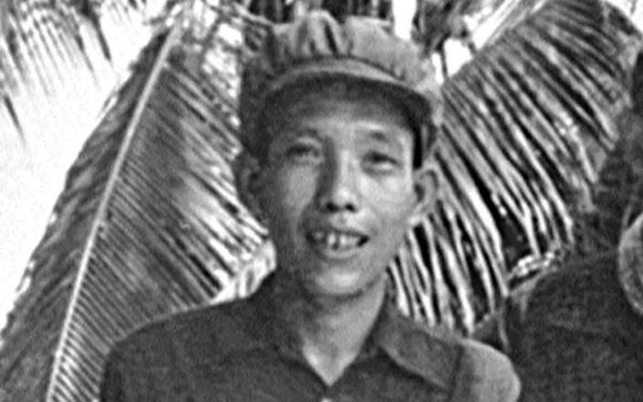 Kaing Guek Eav (Comrade Duch) in the Cambodian jungle in the early 1970s - Alamy