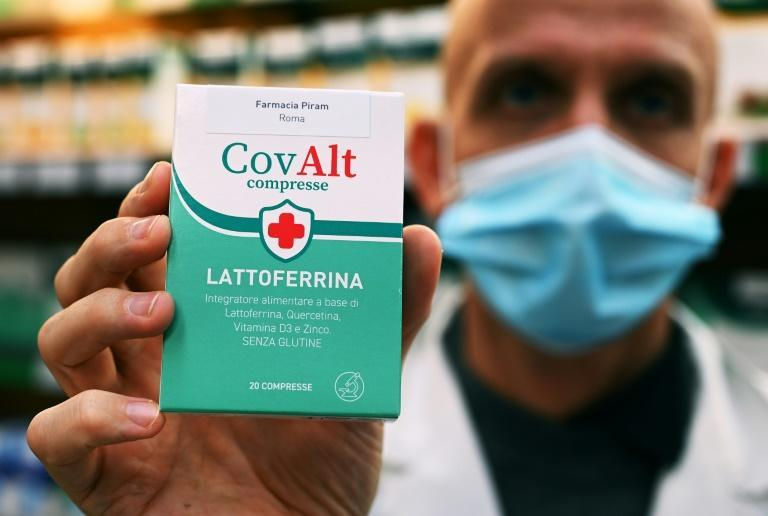 The demand for lactoferrin follows a local news report that made claims about its use in protecting against coronavirus