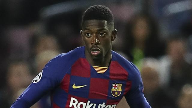 Barcelona's Ousmane Dembele is to receive treatment in Qatar as he recovers from a hamstring injury that will keep him out of the Clasico.