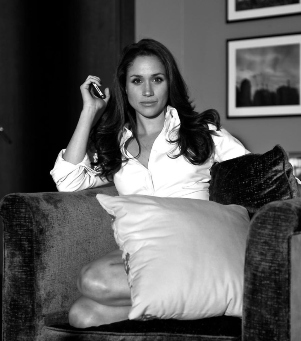 """Patrick J. Adams shared some old """"Suits"""" photos, including some with Meghan Markle. (Screenshot: Patrick J. Adams via Instagram)"""
