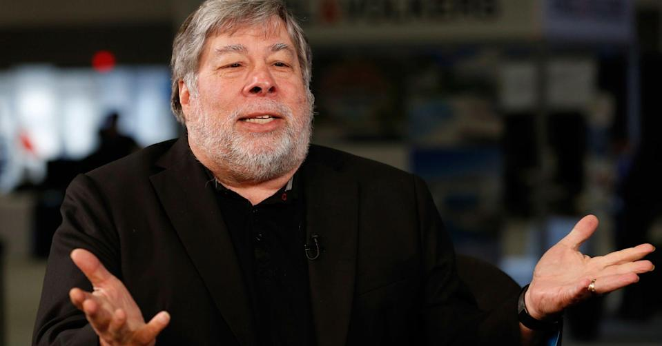 """""""Assistive driving"""" to help cars spot red lights, stop signs, and avoid accidents is """"the way to go,"""" Wozniak says."""