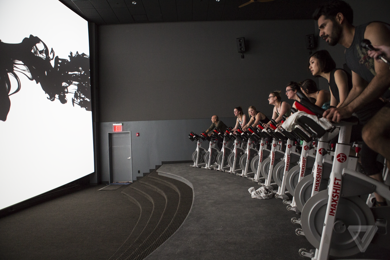 A new IMAX spin class could transform the way you exercise — someday