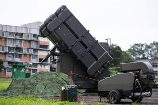 Taiwan has carried out its own drills in response to China's military exercises around the island