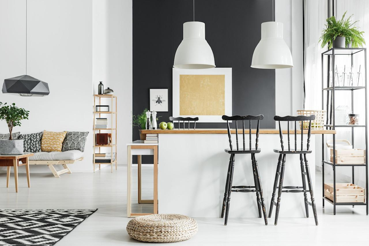 """<p>There's no shortage of stylish <a href=""""https://www.housebeautiful.com/shopping/furniture/g22521591/farmhouse-bar-stools/"""" target=""""_blank"""">bar stools</a> online and in all your favorite stores, but finding bar stools that are cute <em>and </em>cheap can be a challenge. <em></em>Often you'll find bar stools starting at $200 (and that's still on the inexpensive side, all things considered) but the thing about bar stools is: you're never buying just one. The more stools you need for your counter, the more things add up. And if you're trying to outfit your kitchen on a budget, of course you want to keep the price per stool down as much as possible. </p><p>These bar stools-which come in a range of styles from rustic to industrial to glam to modern-all individually come in at under $100. (Even better: Some are sold in <em>pairs</em> for under $100 total!) No matter what style your kitchen is or <a href=""""https://www.housebeautiful.com/shopping/furniture/g22474764/colorful-bar-stools/"""" target=""""_blank"""">how colorful </a>you're looking to go, there's an affordable bar stool here for everyone, all from some of your favorite trusted brands like Target, Wayfair, IKEA, and more. </p>"""