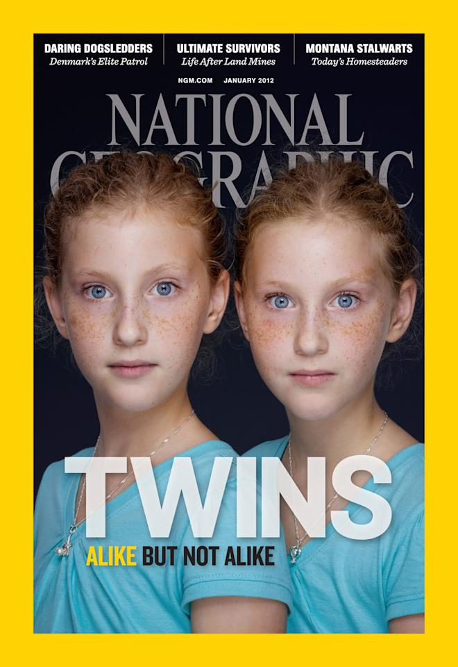 ©Martin Schoeller/National Geographic. The photo is in the January 2012 issue of National Geographic magazine, on newsstands December 27.