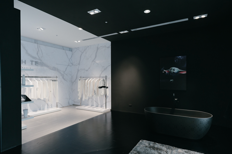As a new addition to the flagship store, customers can shop the home collection