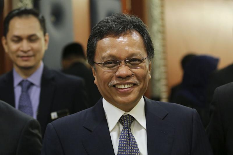 Shafie said he has identified three subsidiaries of Sabah Foundation to be reviewed for downsizing. ― Picture by Yusof Mat Isa