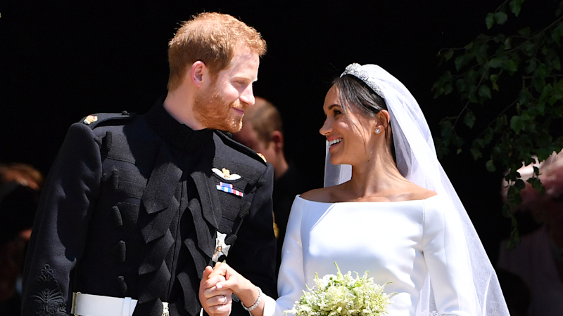 Meghan Markle Reveals Her 'Something Blue' From Royal Wedding With Prince Harry