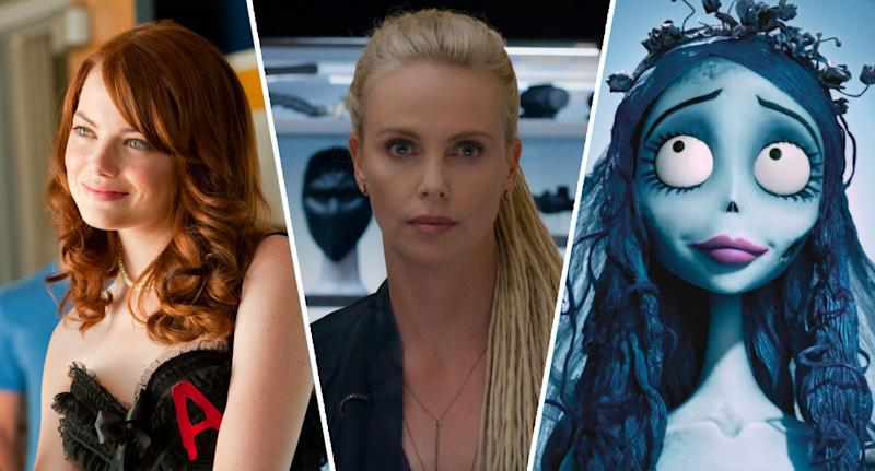 Easy A, Fast & Furious 8, Tim Burton's The Corpse Bride.