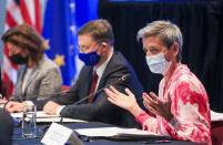 U.S and European Union trade and investment talks are held in Pittsburgh, Pennsylvania