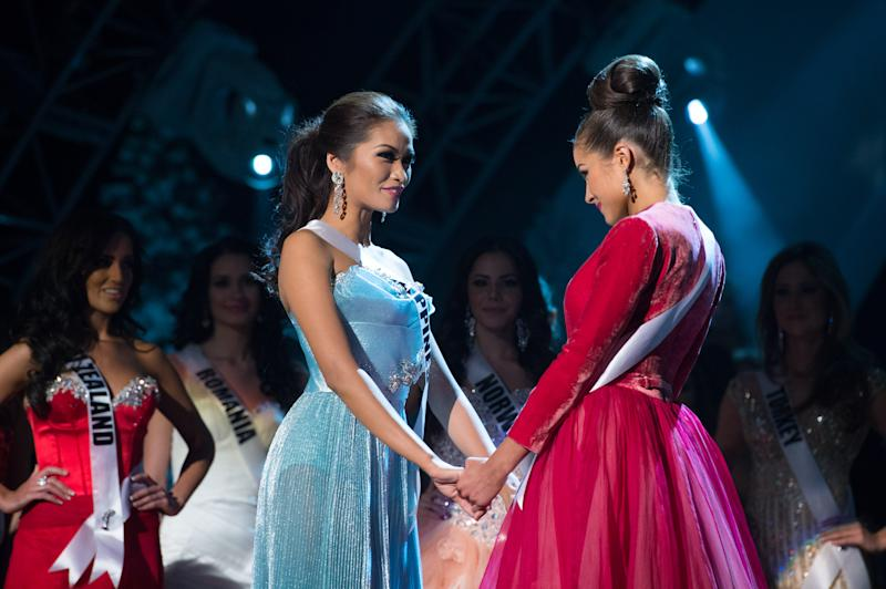 Miss Universe Philippines, Janine Tugonon, is declared first runner-up as, Miss USA, Olivia Culpo, is named the winner of the 2012 Miss Universe Competition. She will be crowned with the Diamond Nexus Labs crown at the close of the LIVE NBC Telecast of the 2012 Miss Universe Competition at PH Live in Las Vegas, Nevada on December 19, 2012.HO/Miss Universe Organization L.P., LLLP (Phtographer: Greg Harbaugh)