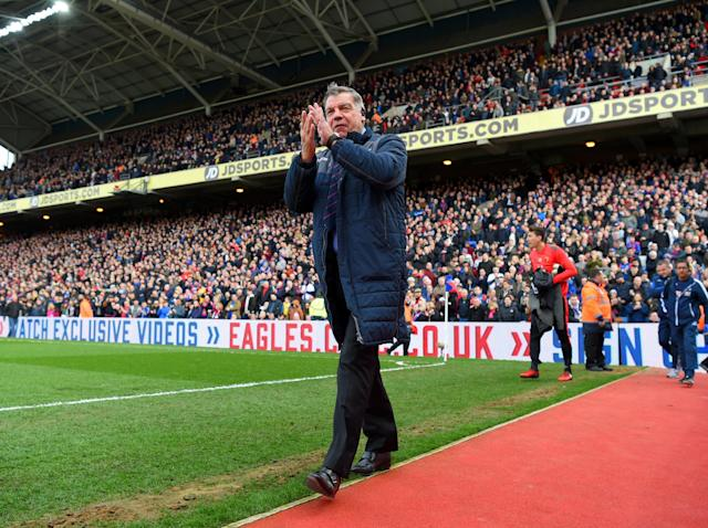 Allardyce deserves credit for Palace's improved performances of late: Getty