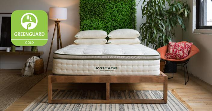 Avocado Green Queen Mattress