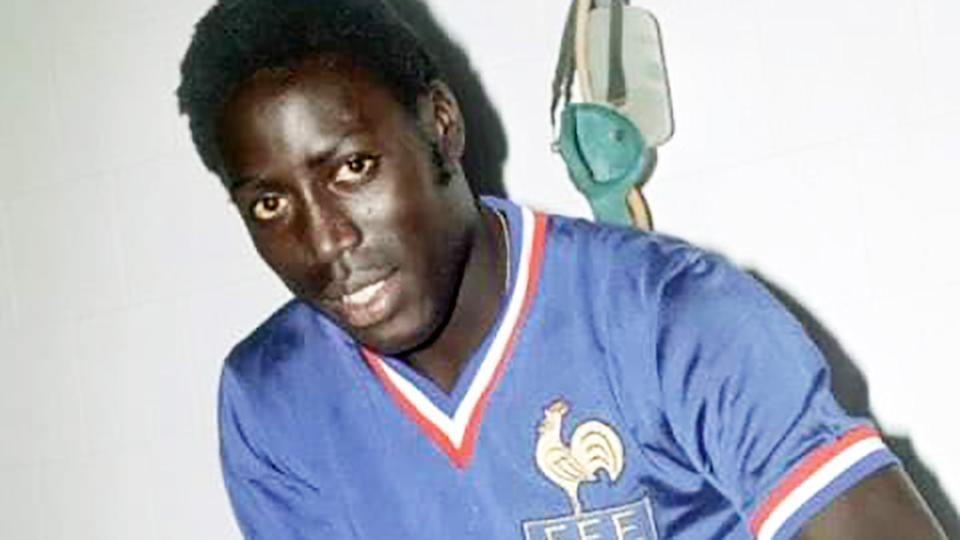 Jean-Pierre Adams, pictured here during his football career.