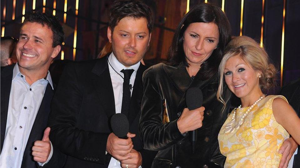 Grahame took part in Ultimate Big Brother with former contestants Craig Phillips and Brian Dowling, pictured with Davina McCall