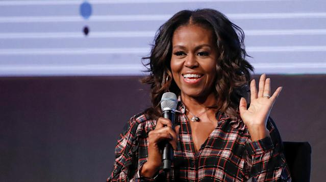 Michelle Obama's Advice For Young Girl Leaders On International Women's Day