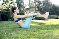 """<p>Finding time to exercise no matter what time of day is important, but if you need that little extra push when it comes to burning calories, then try exercising in the morning. Studies have found that <a href=""""http://www.cnn.com/2019/10/18/health/exercise-breakfast-fat-burn-wellness/index.html"""" class=""""link rapid-noclick-resp"""" rel=""""nofollow noopener"""" target=""""_blank"""" data-ylk=""""slk:exercising in the morning before breakfast can help you burn more fat"""">exercising in the morning before breakfast can help you burn more fat</a>, and prioritizing it first thing in the day ensures you get it in before excuses have time to take over (hello, Netflix!) </p>"""
