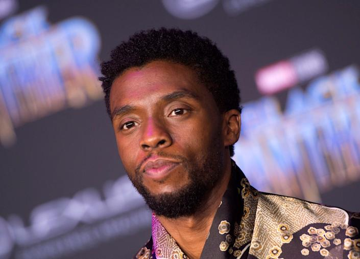 """""""Black Panther"""" and """"Ma Rainey's Black Bottom"""" star Chadwick Boseman died in August 2020."""