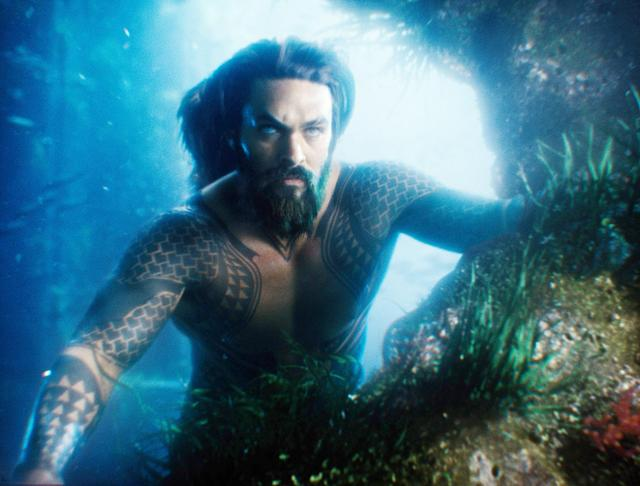 Jason Momoa as Aquaman in <em>Justice League.</em> (Photo: Warner Bros. Pictures/Courtesy of Everett Collection)