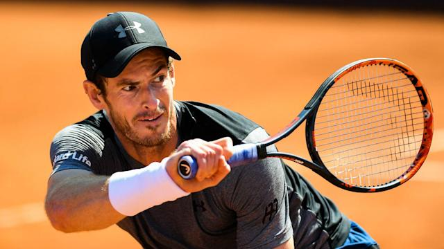 Andy Murray's struggles on the clay continued as Dominic Thiem booked a spot in the Barcelona Open final.